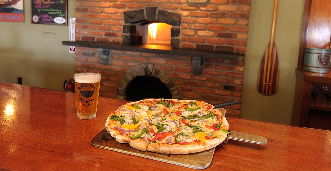 Wood Boat Brewery Brick Oven Pizza and Beer
